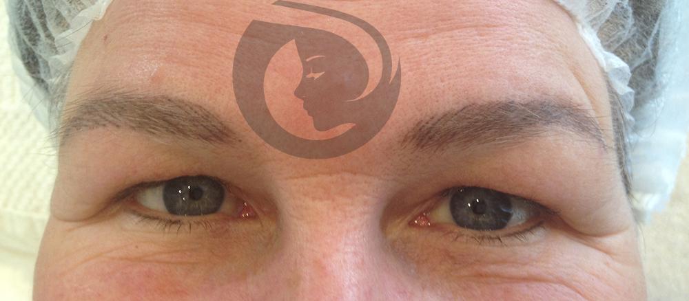 PMU hairstrokes en eyeliner