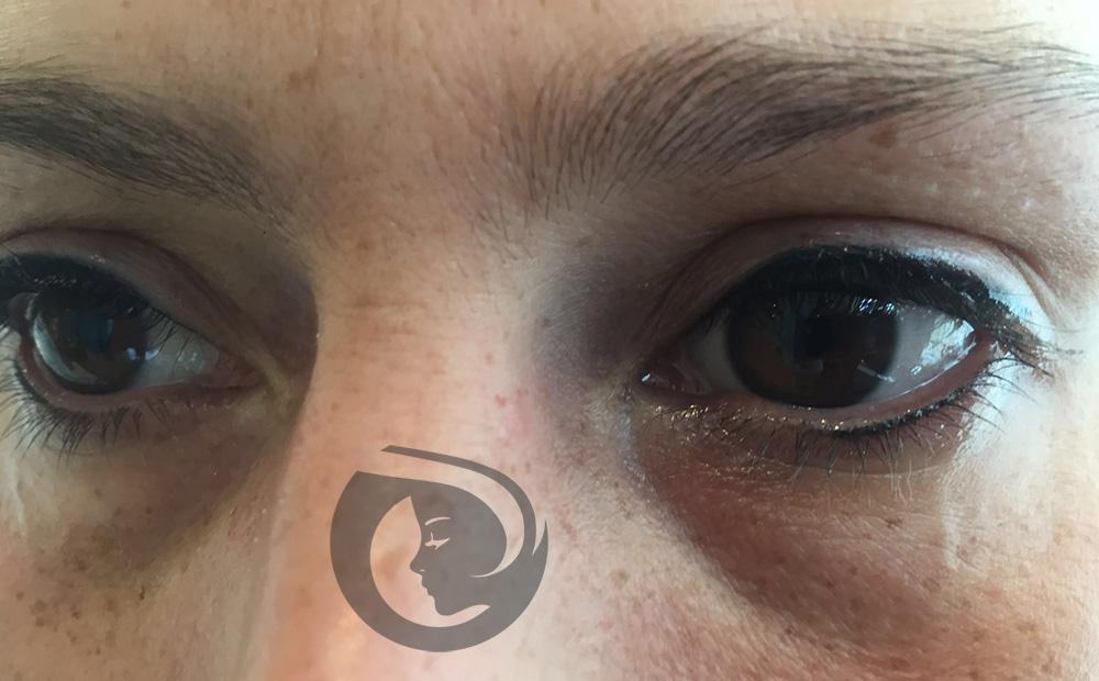 PMU eyeliner onder boven