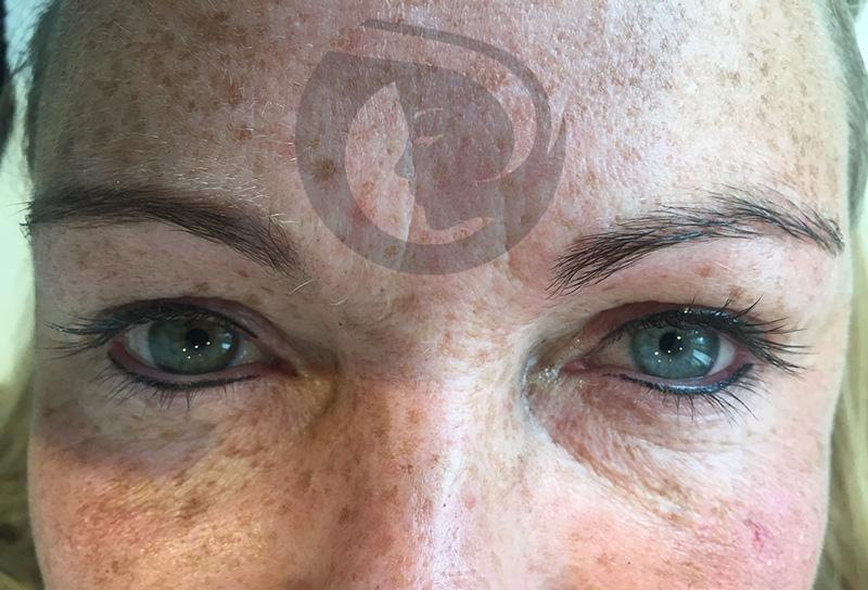 PMU Eye liner onder en boven